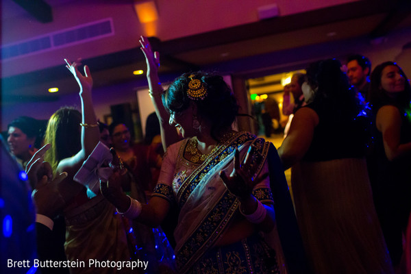 Reception in Los Angeles, CA Indian Wedding by Brett Butterstein Photography