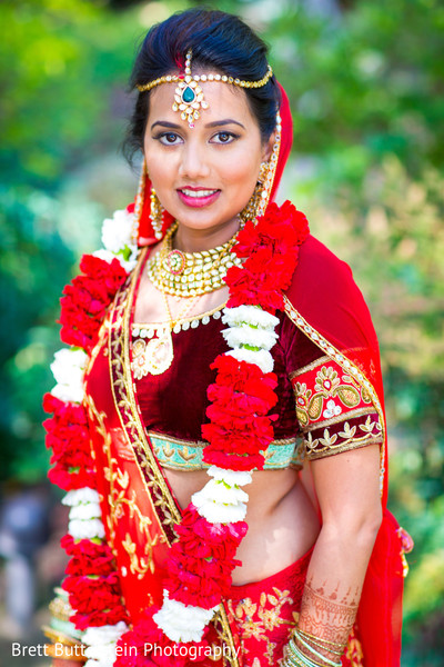 Portraits in Los Angeles, CA Indian Wedding by Brett Butterstein Photography