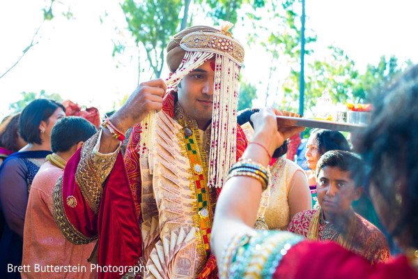 Baraat in Los Angeles, CA Indian Wedding by Brett Butterstein Photography