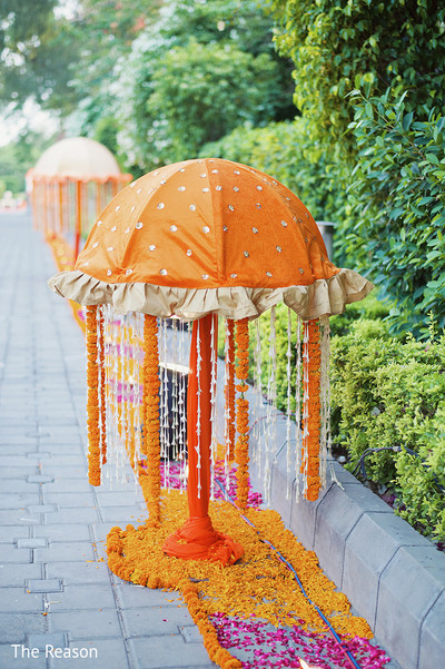 Ceremony in New Delhi Indian Fusion Wedding by The Reason