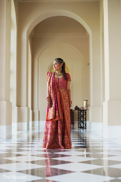 Portraits in New Delhi Indian Fusion Wedding by The Reason