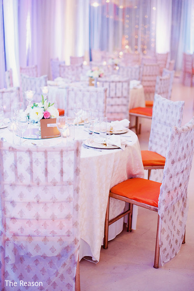 Reception in New Delhi Indian Fusion Wedding by The Reason