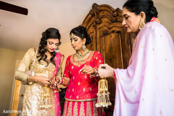 Getting Ready in City of Industry, CA Indian Wedding by Aaroneye Photography