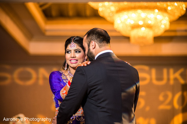 Reception in City of Industry, CA Indian Wedding by Aaroneye Photography