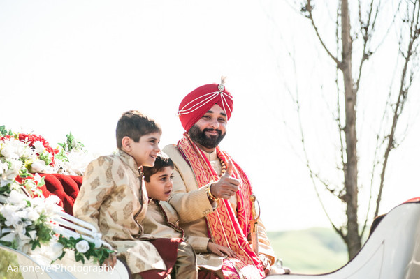 Baraat in City of Industry, CA Indian Wedding by Aaroneye Photography