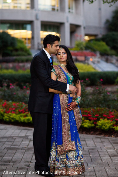 Portraits in Atlanta, GA South Indian Wedding by Alternative Life Photography & Design