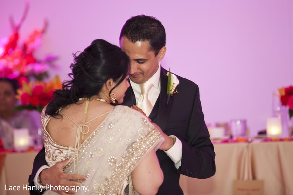 First Dance in Bloomington, MN Indian Wedding by Lace Hanky Photography
