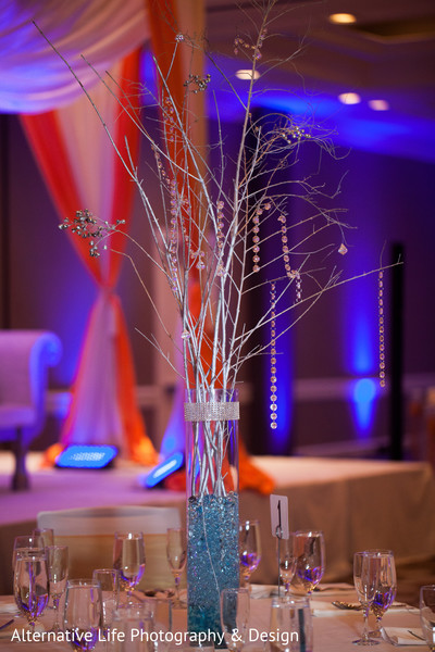 Reception Decor in Atlanta, GA South Indian Wedding by Alternative Life Photography & Design