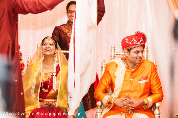 Ceremony in Atlanta, GA South Indian Wedding by Alternative Life Photography & Design