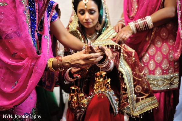 Getting Ready in Burlington, NJ Sikh Wedding by NYNJ Photography