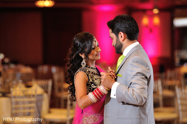 Reception in Burlington, NJ Sikh Wedding by NYNJ Photography