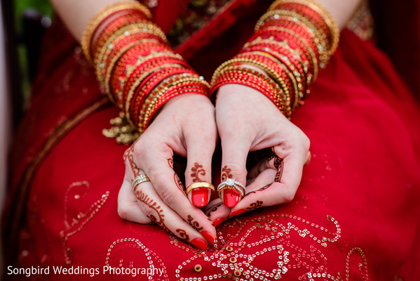 Getting Ready in Bastrop, TX Indian Fusion Wedding by Songbird Weddings Photography