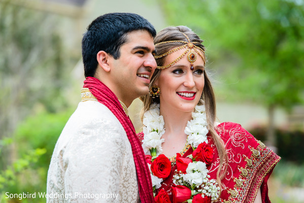 Portraits in Bastrop, TX Indian Fusion Wedding by Songbird Weddings Photography