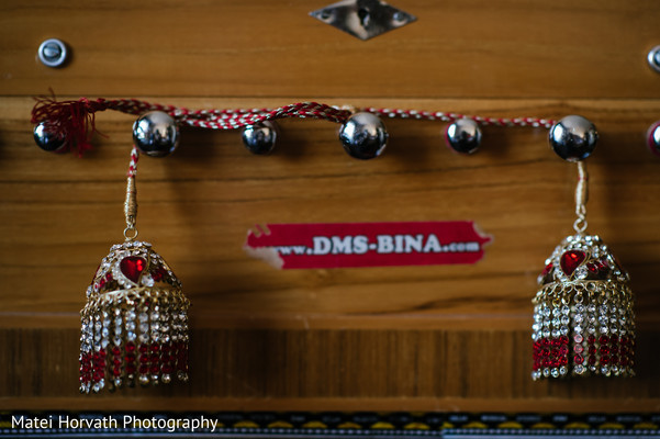 Bridal Jewelry in Boston, MA Sikh Wedding by Matei Horvath Photography