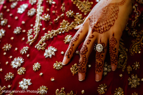 Mehndi in Boston, MA Sikh Wedding by Matei Horvath Photography