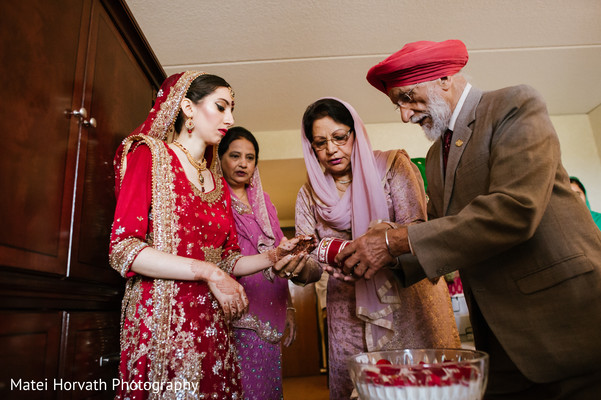 Photo in Boston, MA Sikh Wedding by Matei Horvath Photography