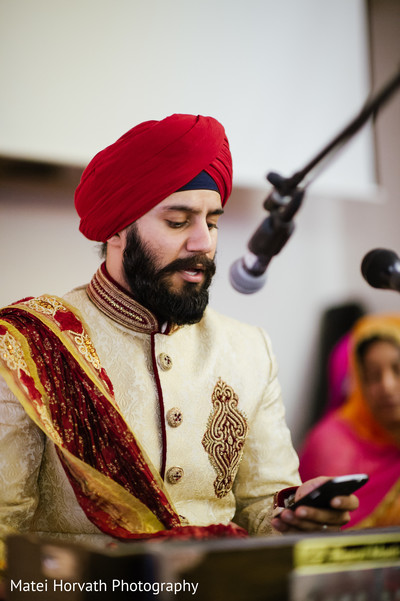 Ceremony in Boston, MA Sikh Wedding by Matei Horvath Photography
