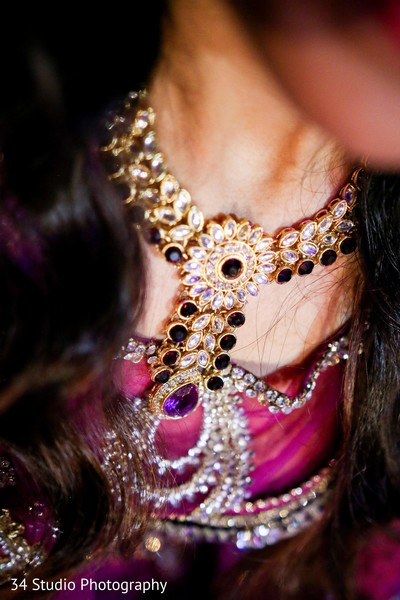 Bridal Jewelry in Plano, TX South Asian Wedding by 34 Studio Photography