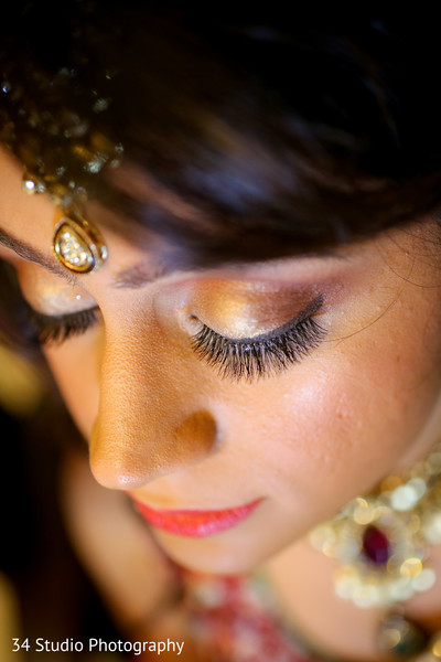 Makeup in Plano, TX South Asian Wedding by 34 Studio Photography