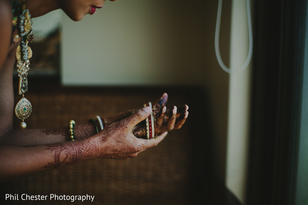 Getting Ready in Costa Rica Destination Indian Wedding by Phil Chester Photography
