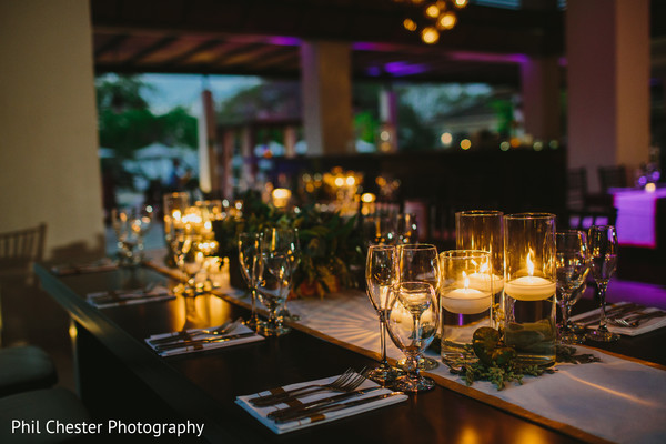 Reception in Costa Rica Destination Indian Wedding by Phil Chester Photography
