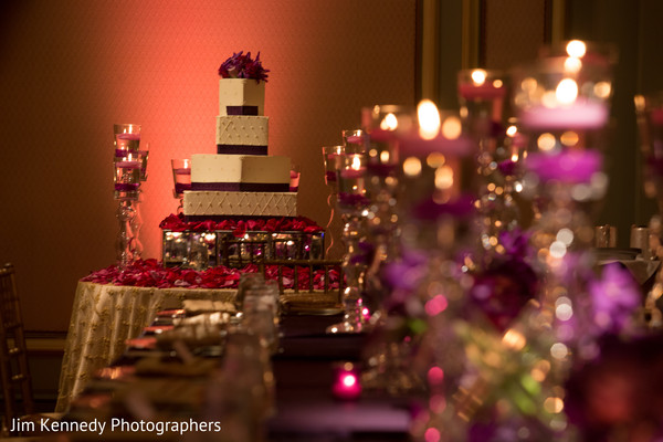 reception decor,cake