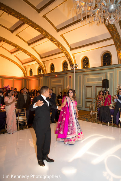 Reception in Pasadena, CA Sikh-Catholic Fusion Wedding by Jim Kennedy Photographers
