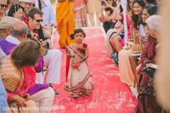 An outdoor ceremony is held!
