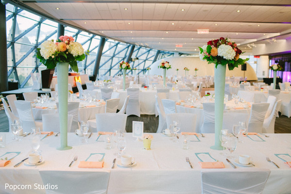 reception decor,floral & decor