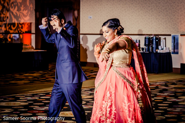 Reception in Scottsdale, AZ Indian Wedding by Sameer Soorma Studios