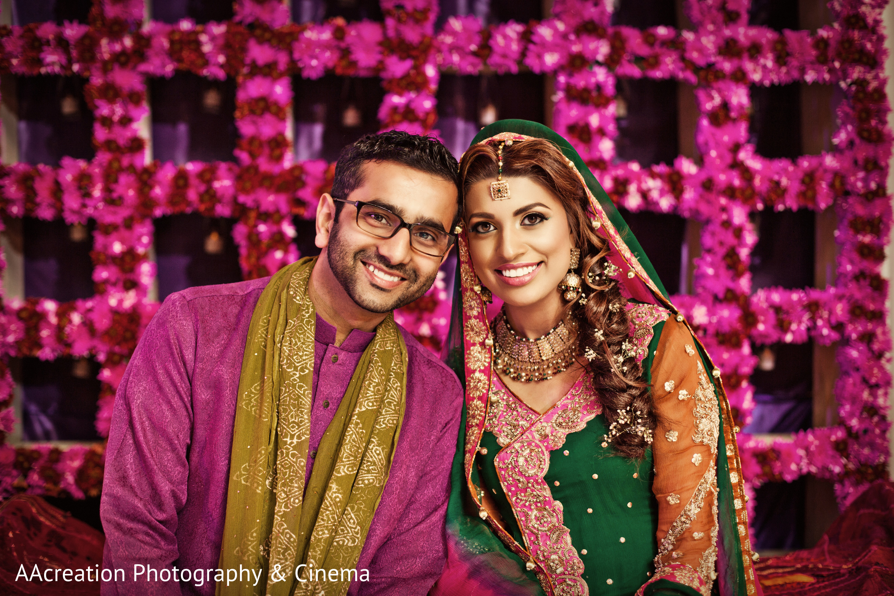 Asian Mehndi Party : Long beach ca pakistani wedding by aacreation photography & cinema
