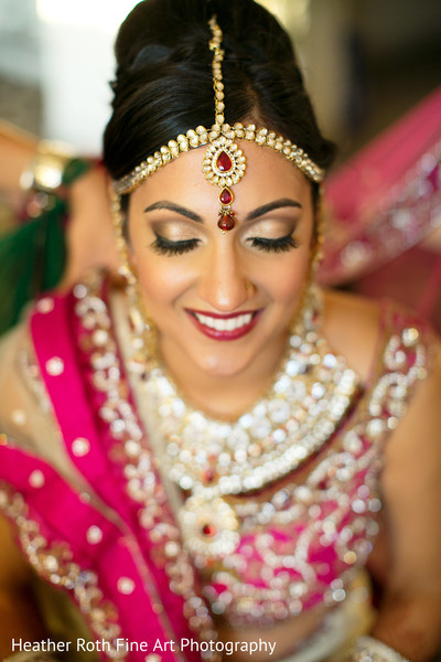 Getting Ready in Tulsa, OK Hindu-Christian Fusion Wedding by Heather Roth Fine Art Photography