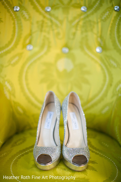 Shoes in Tulsa, OK Hindu-Christian Fusion Wedding by Heather Roth Fine Art Photography