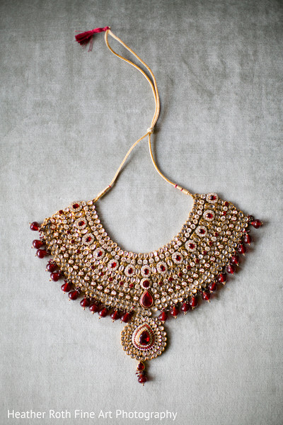 Bridal Jewelry in Tulsa, OK Hindu-Christian Fusion Wedding by Heather Roth Fine Art Photography