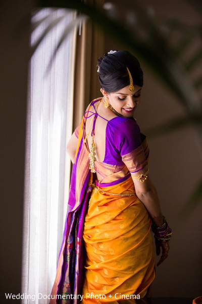 Photo in 7 Sensational Bridal Saris!