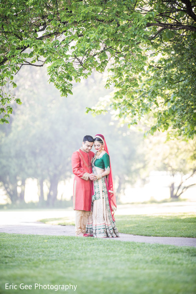Portraits in Itasca, Illinois Indian Wedding by Eric Gee Photography