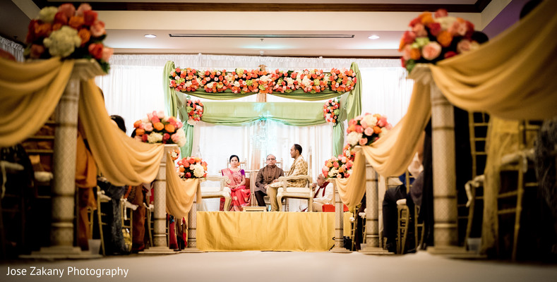 ceremony,mandap,floral & decor