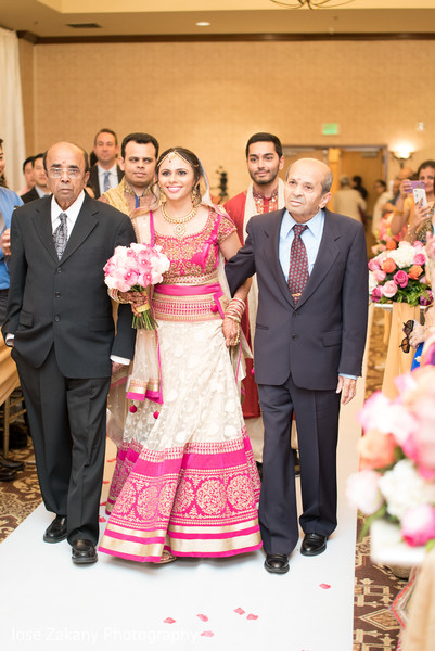 Ceremony in Anaheim, CA Indian Wedding by Jose Zakany Photography