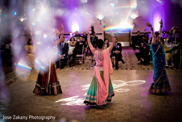 Reception in Anaheim, CA Indian Wedding by Jose Zakany Photography