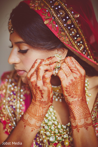 Getting Ready in Dearborn, MI Indian Wedding by Jobst Media