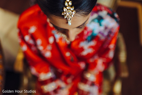 Getting Ready in Huntington, NY Indian Wedding by Golden Hour Studios