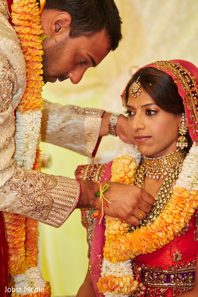 Ceremony in Dearborn, MI Indian Wedding by Jobst Media