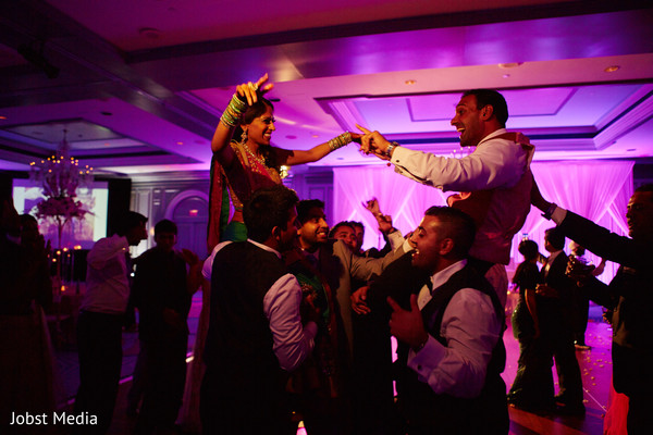 Reception in Dearborn, MI Indian Wedding by Jobst Media