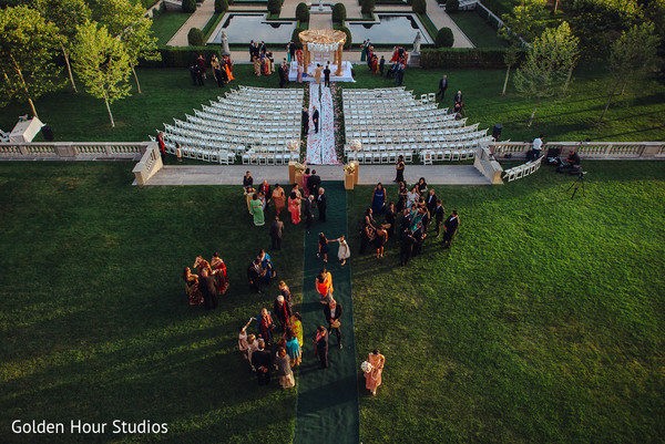 Venue in Huntington, NY Indian Wedding by Golden Hour Studios