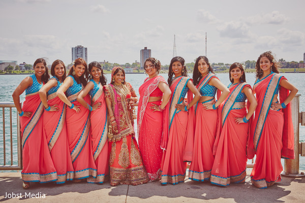 Portraits in Dearborn, MI Indian Wedding by Jobst Media