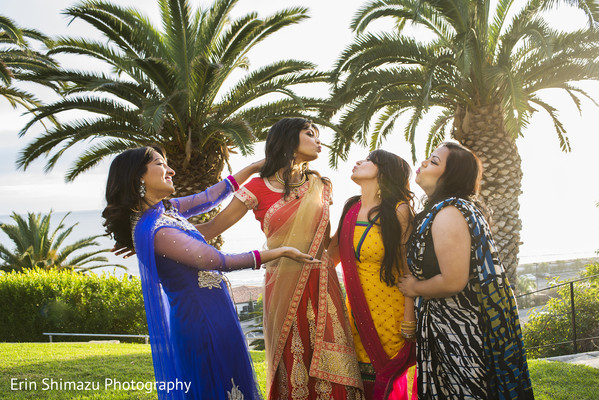 Photo in Pacific Palisades, CA Indian Fusion Wedding by Erin Shimazu Photography