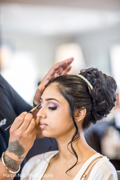 Getting Ready in Bellflower, CA Christian-Pakistani Wedding by Martin Ngo Photography