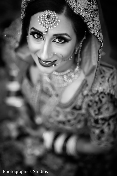 Getting Ready in Tysons Corner, VA Indian Wedding by Photographick Studios