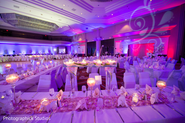 Reception in Tysons Corner, VA Indian Wedding by Photographick Studios