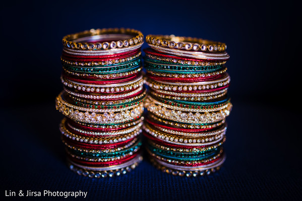 Bridal Jewelry in Los Angeles, CA Indian Wedding by Lin & Jirsa Photography